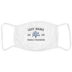 Custom Family Reunion Group Face Masks