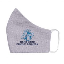 Happy Camper Family Reunion Youth Mask