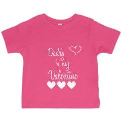 daddy is my valentine