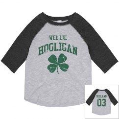 Wee Lil St Pat Hooligan Kid