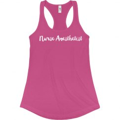 Women's Flow Tank- Nurse Anesthetist