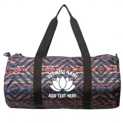 Custom Yoga Studio Branded Bag