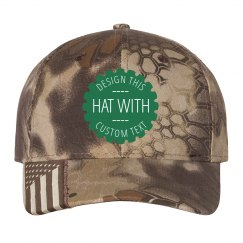 Design Your Own Camo Hat