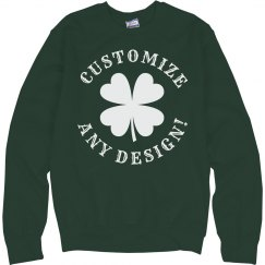 Design St Patty's Fleece!