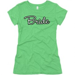 Ladies Slim Fit Super Soft Triblend Tee
