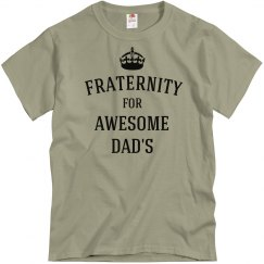 Awesome dad fraternity