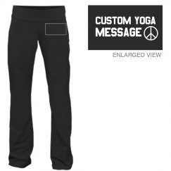 Custom Yoga Message