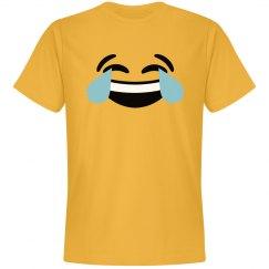 Emoji Laughing Hard Face Costume