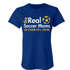 The Real Soccer Moms