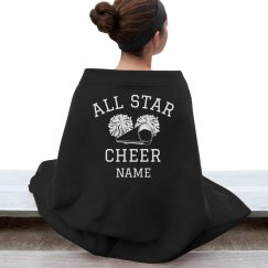 Custom Name All Star Blanket