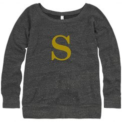 S Initial Sweater