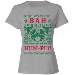 Christmas Bah Hum-Pug