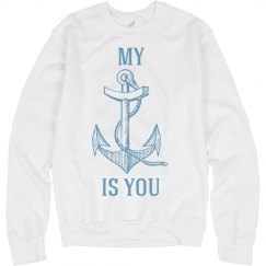 My anchor is you