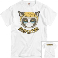 Grumpy Cat Trump Hair Tshirt