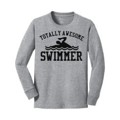 Totally awesome swimmer