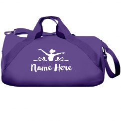 Custom Name Youth Dance Bag