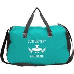 Custom Name & Text Bag For Dancer