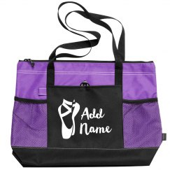 Custom Name Ballet Practice Bag