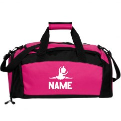 Personalized Name Youth Girls Dance Bag