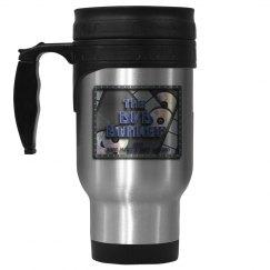 DVD Bunker steel mug