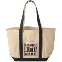 straight outta Canvas bag