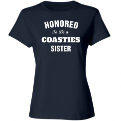 Honored to be coastie sister