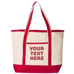 Custom Trendy Patterned Tote