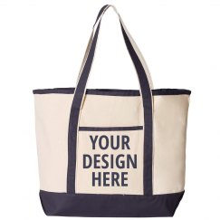 Custom Text Beach Bag Gift