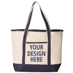 Custom Text Beach Bag Gift