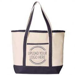 Upload Your Business Logo Custom Tote