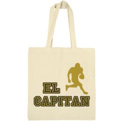 El Cap Football Tote Bag