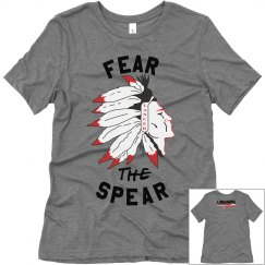 FEAR THE SPEAR TEE