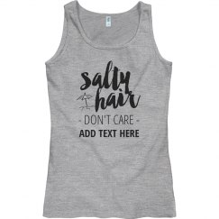 Salty Hair - Don't Care Shirt