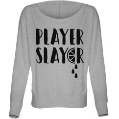 Prayer Slayer Women's Off Shoulder Tee