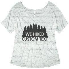 Custom Besties Hiking Trail Tee