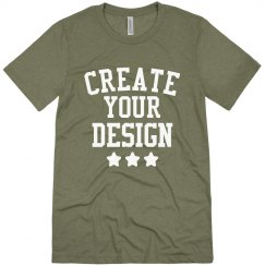 Design A Custom Triblend Tee