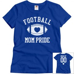 Cute Football Mom Shirts to Customize This Year!