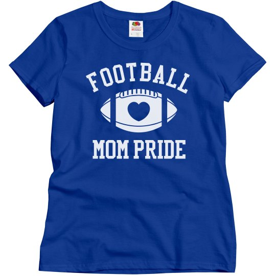 aa3543ad6 Cute Football Mom Shirts to Customize This Year! Ladies Relaxed Fit Basic T- Shirt: This Mom Means Business!
