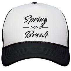 Dated Spring Break Custom Hat