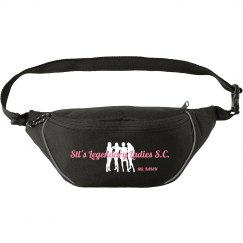 Lady Legends Fanny Pack - Pink/White