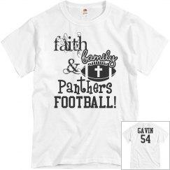 Faith, Family, & Panthers Football!