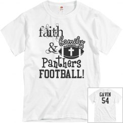 Faith, Family, & Panthers Football!