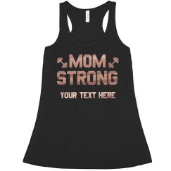 Mom Strong Copper Metallic
