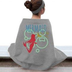 mermaid stadium blanket