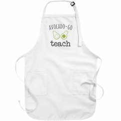 Avocado-Go Teach Apron