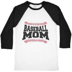 676e8e4a4 Ladies Relaxed Fit Vintage Sports Tee · Proud Baseball Mom Tee