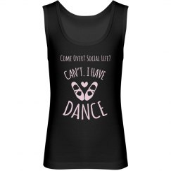 Can't. I Have Dance Tank