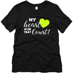 Heart on Court  BLACK