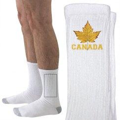 Canada Souvenir Socks