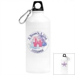 Dreams Come True Water Bottle